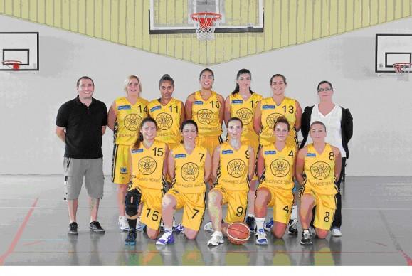 Basket equipe fille